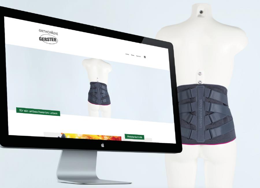 Titelbild - Orthopädie Gerster | Webdesign