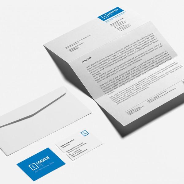 Beitragsbild - Logo-Design | Loeven Ing aus Mönchengladbach