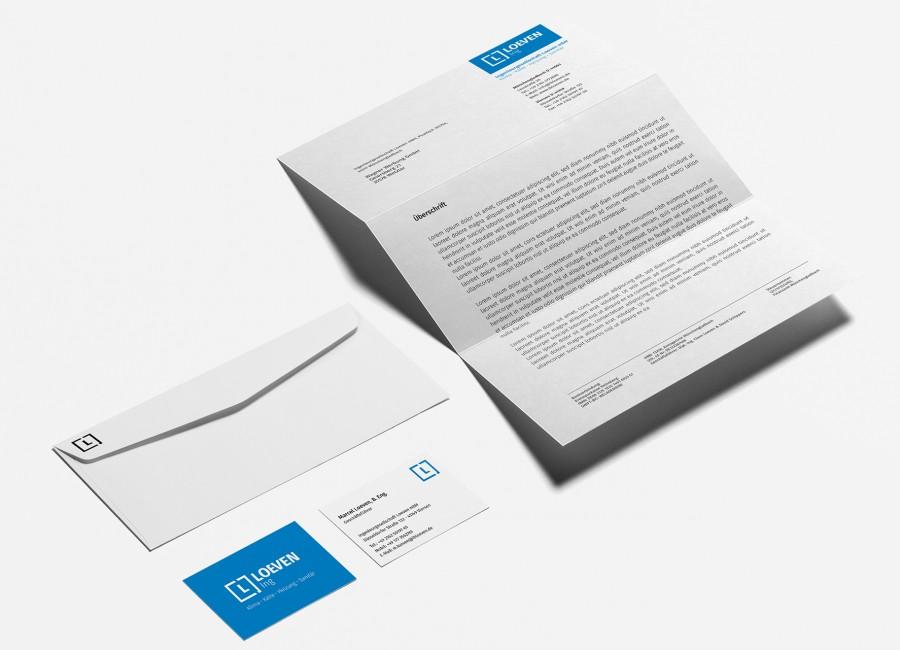 Titelbild - Loeven Ing - Markenentwicklung | Logo Design